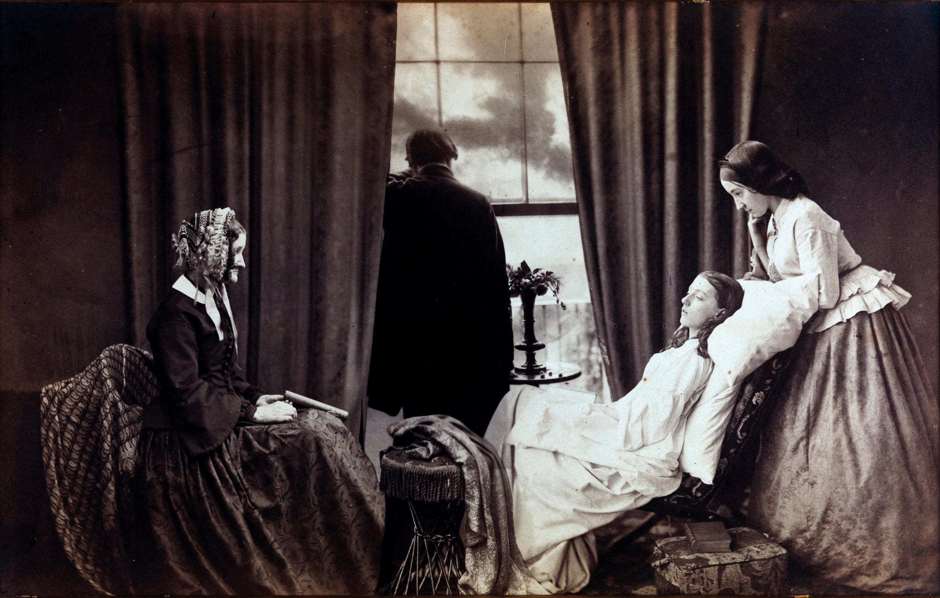 La mourante par Henry Peach Robinson