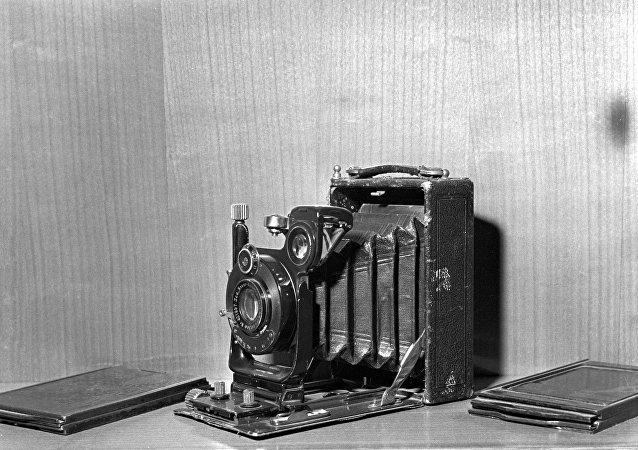 Un appareil photo ancien