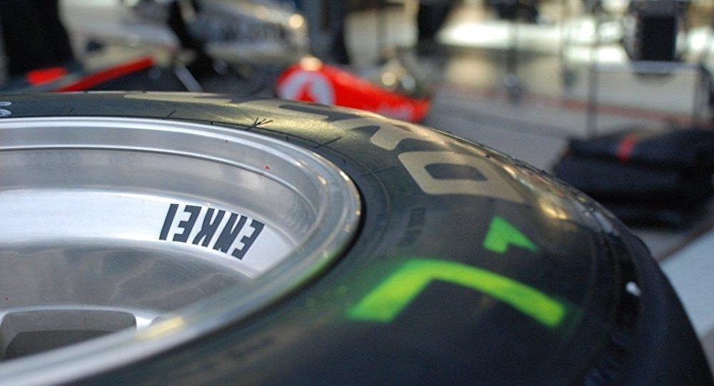 Un pneu de Formule 1