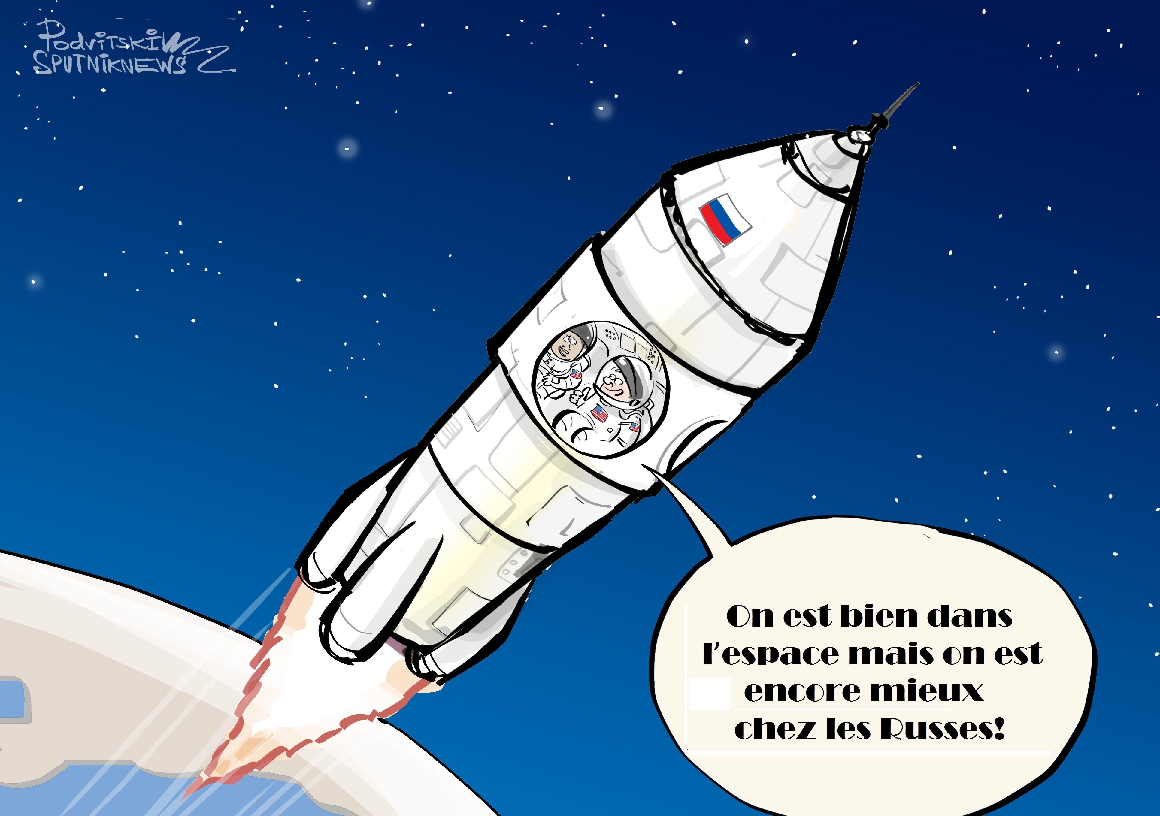 Les Américains préfèrent voler à bord de vaisseaux spatiaux russes
