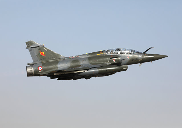 Un Mirage 2000D (image d'illustration)