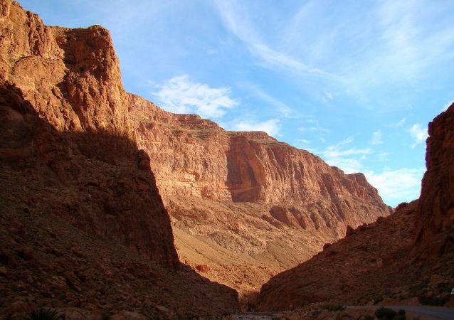 Maroc, Gorges du Toudra