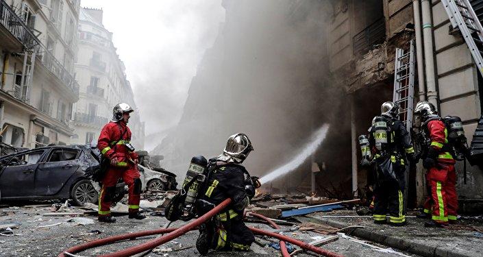 Explosion rue de Trévise dans le 9e arrondissement de Paris