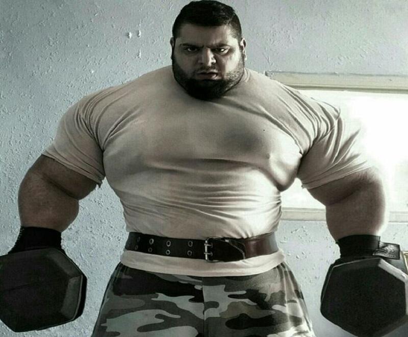 Le Hulk iranien