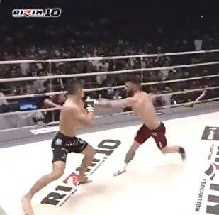 Un match de MMA