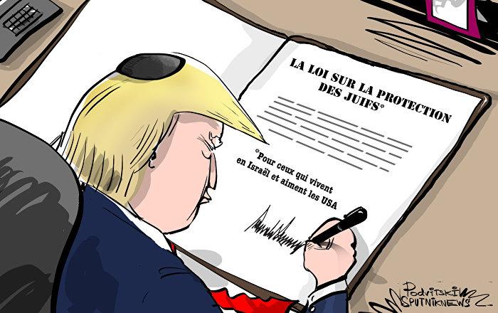 Trump en croisade contre l'antisémitisme sur le Vieux Continent