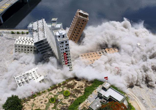 Force destructrice: comment sont démolis les immeubles et les ponts