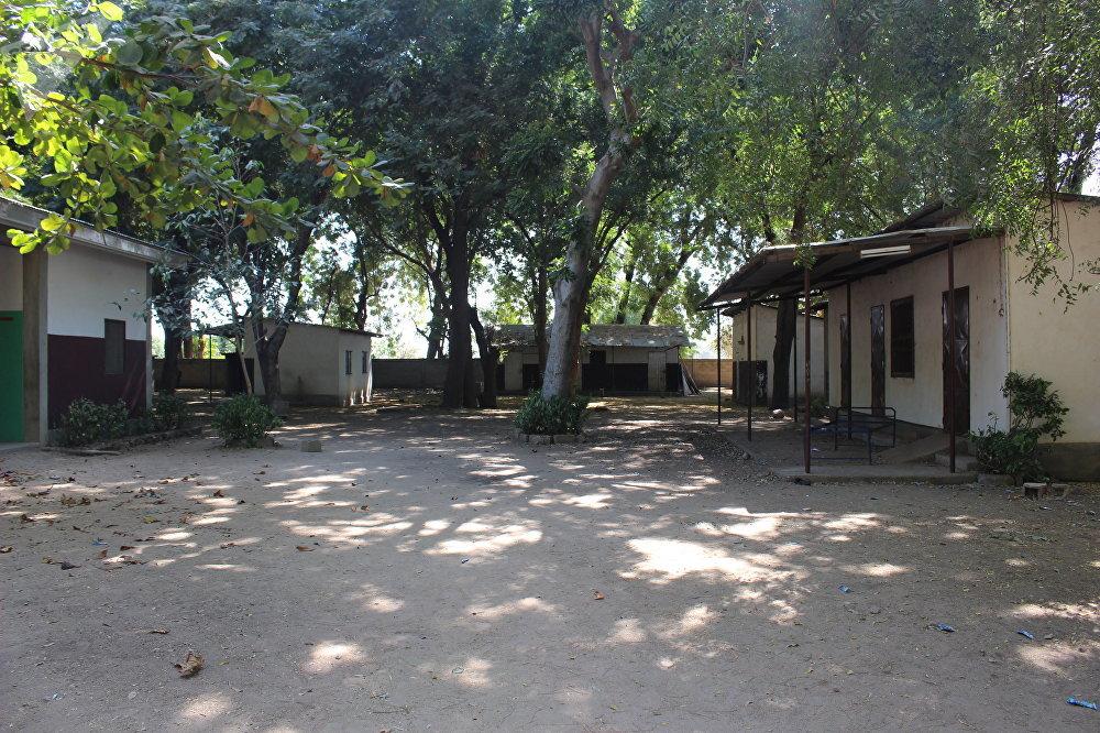 Une vue du centre de santé toujours fermé de Limani, Cameroun