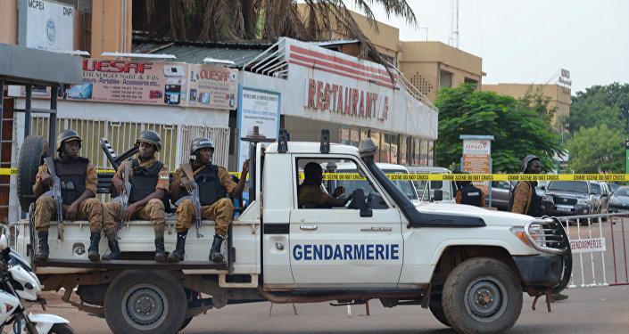 Les forces de sécurité au Burkina Faso (archive photo)