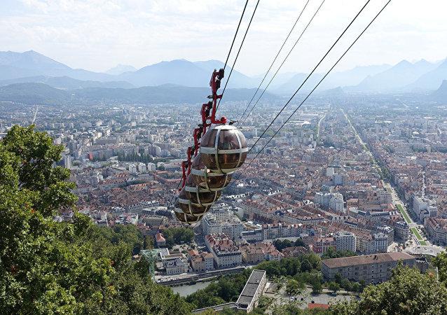 Une vue de Grenoble