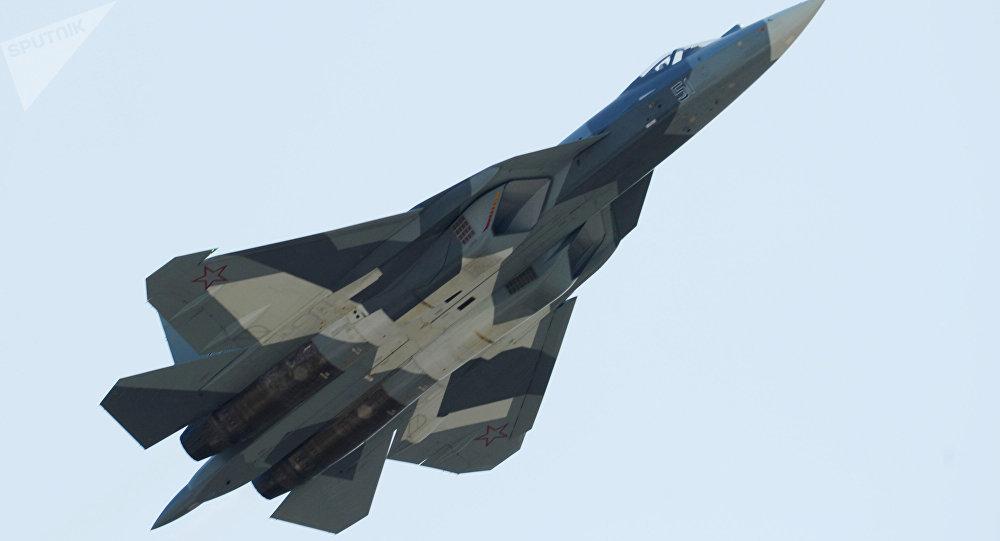 Un chasseur russe Su-57 (archive photo)