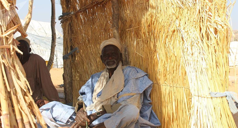Gadji, déplacé dans un camp de la localité de Mémé à l'Extrême-Nord du Cameroun