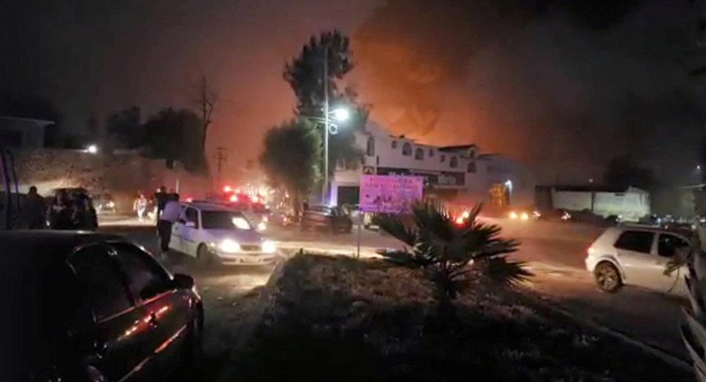 L'explosion d'un oléoduc au Mexique