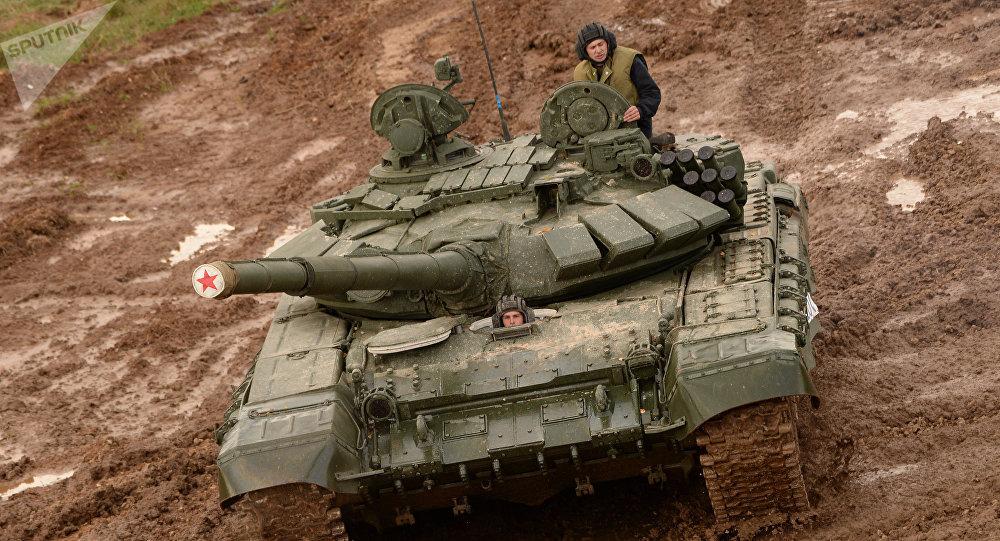Un T-72, image d'illustration