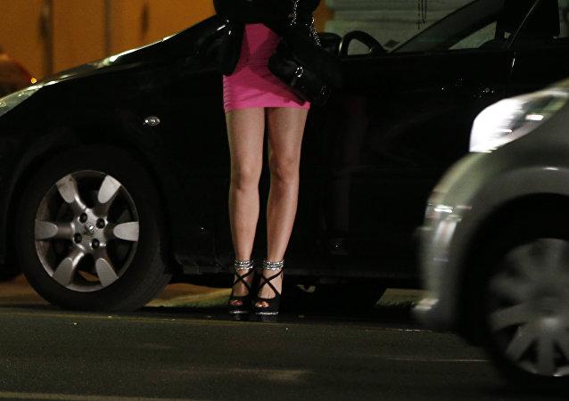 une prostituée (image d'illustration)