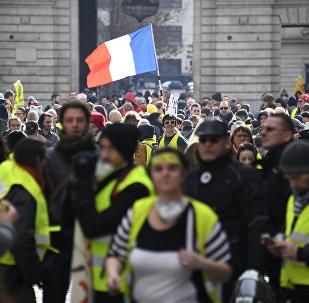 Gilets jaunes à Rennes
