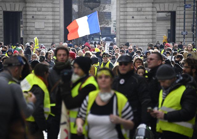 Des Gilets jaunes à Rennes