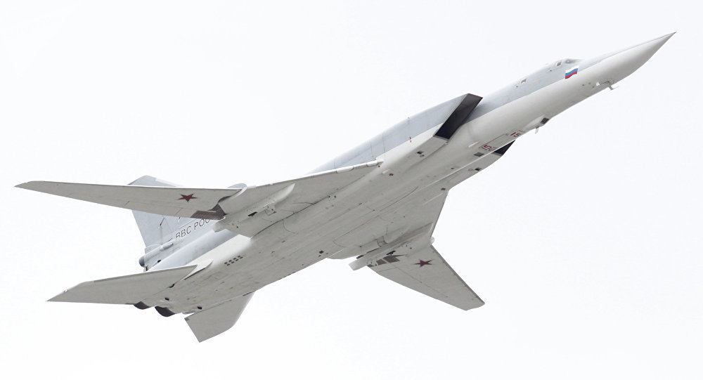Le bombardier supersonique russe Tu-22M3