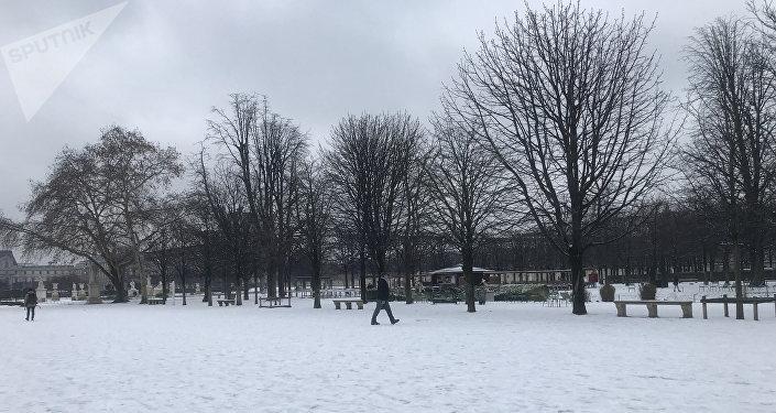 Neige à Paris, 22 janvier 2019