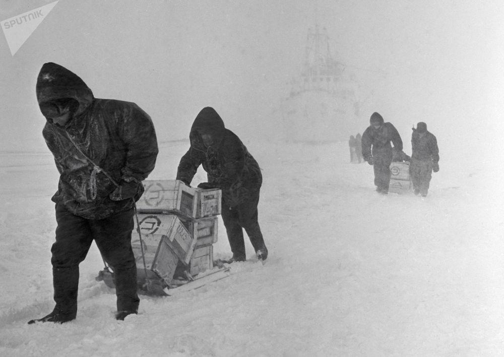 L'Antarctique: regard sur le passé