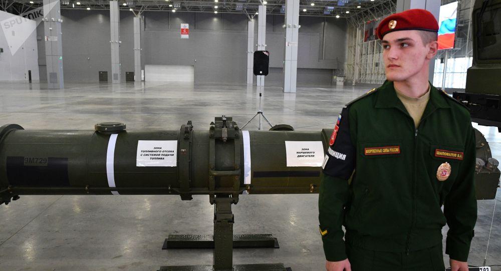 Le missile 9729 présenté en Russie