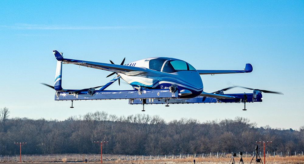 Le premier vol du taxi aérien de Boeing