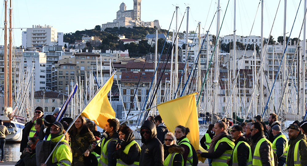 Gilets jaunes à Marseille le 26 janvier