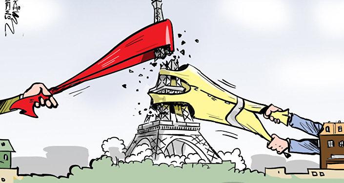 Couleurs de Paris: après les Gilets jaunes, les Foulards rouges