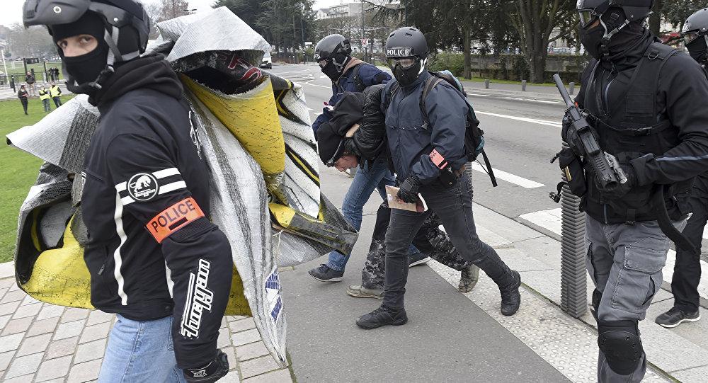 Des Gilets jaunes à Nantes