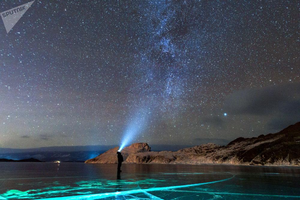Paysages irréels du lac Baïkal
