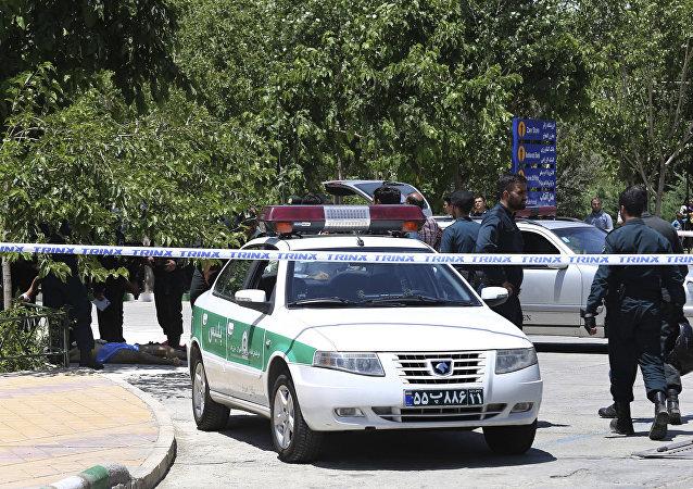 Police iranienne (image d'illustration)