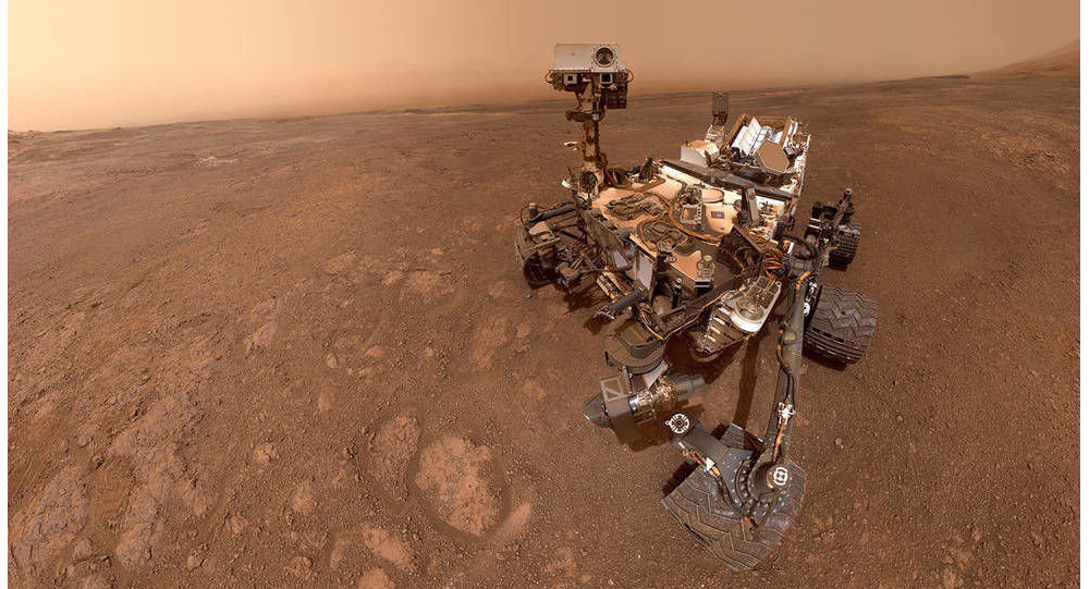 Le robot Curiosity de la Nasa sur Mars