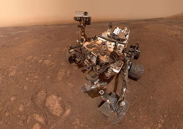 Un selfie du rover Curiosity