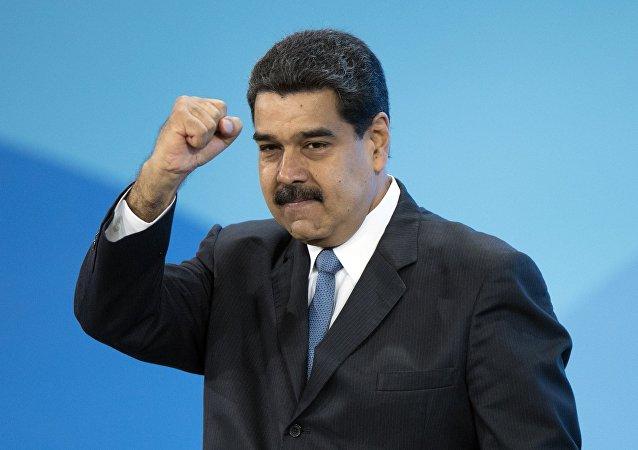 Venezuelas Staatschef Nicolas Maduro