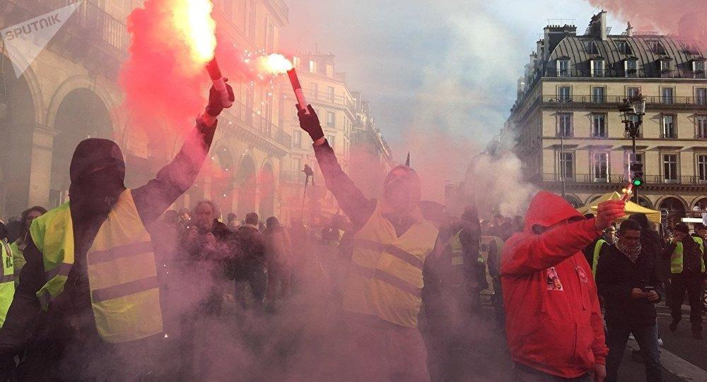 «Grève générale», Paris, 5 février 2019