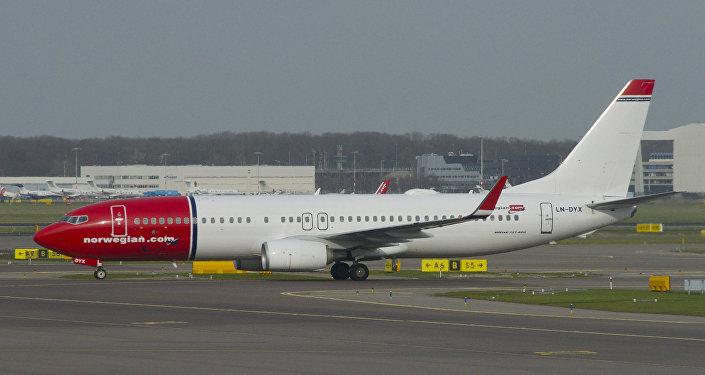 Un avion de la compagnie aérienne Norwegian