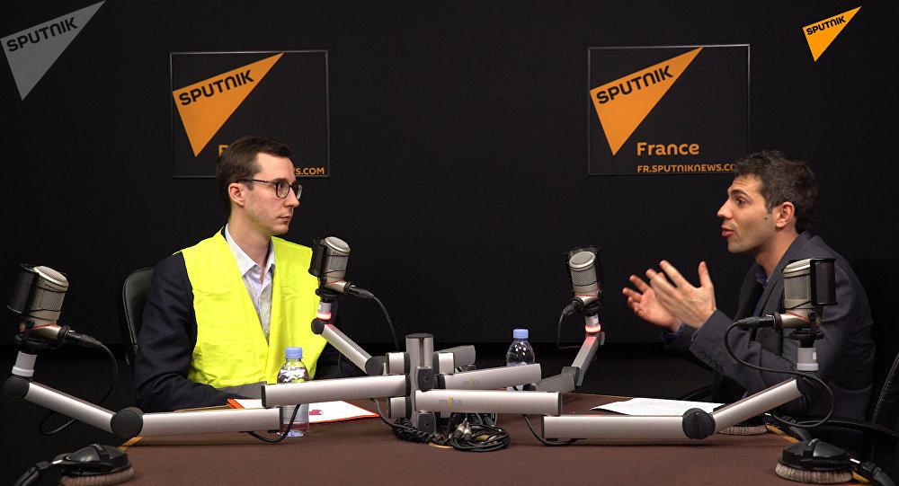 Sputnik France a reçu François Boulo, porte-parole des Gilets jaunes à Rouen