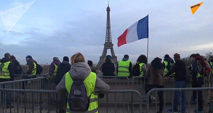 L'acte 13 des Gilets jaunes à Paris