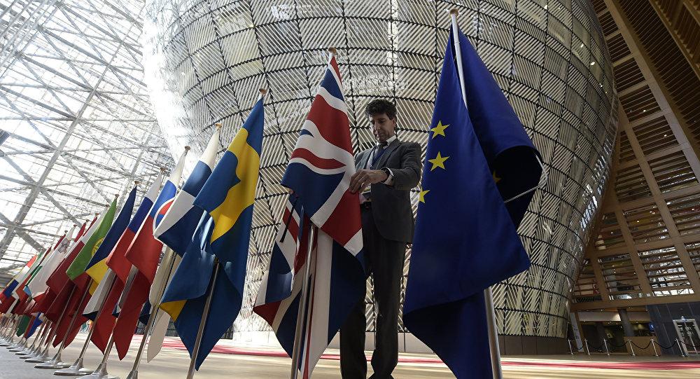 Le bâtiment Europe, siège du Conseil de l'UE, à Bruxelles
