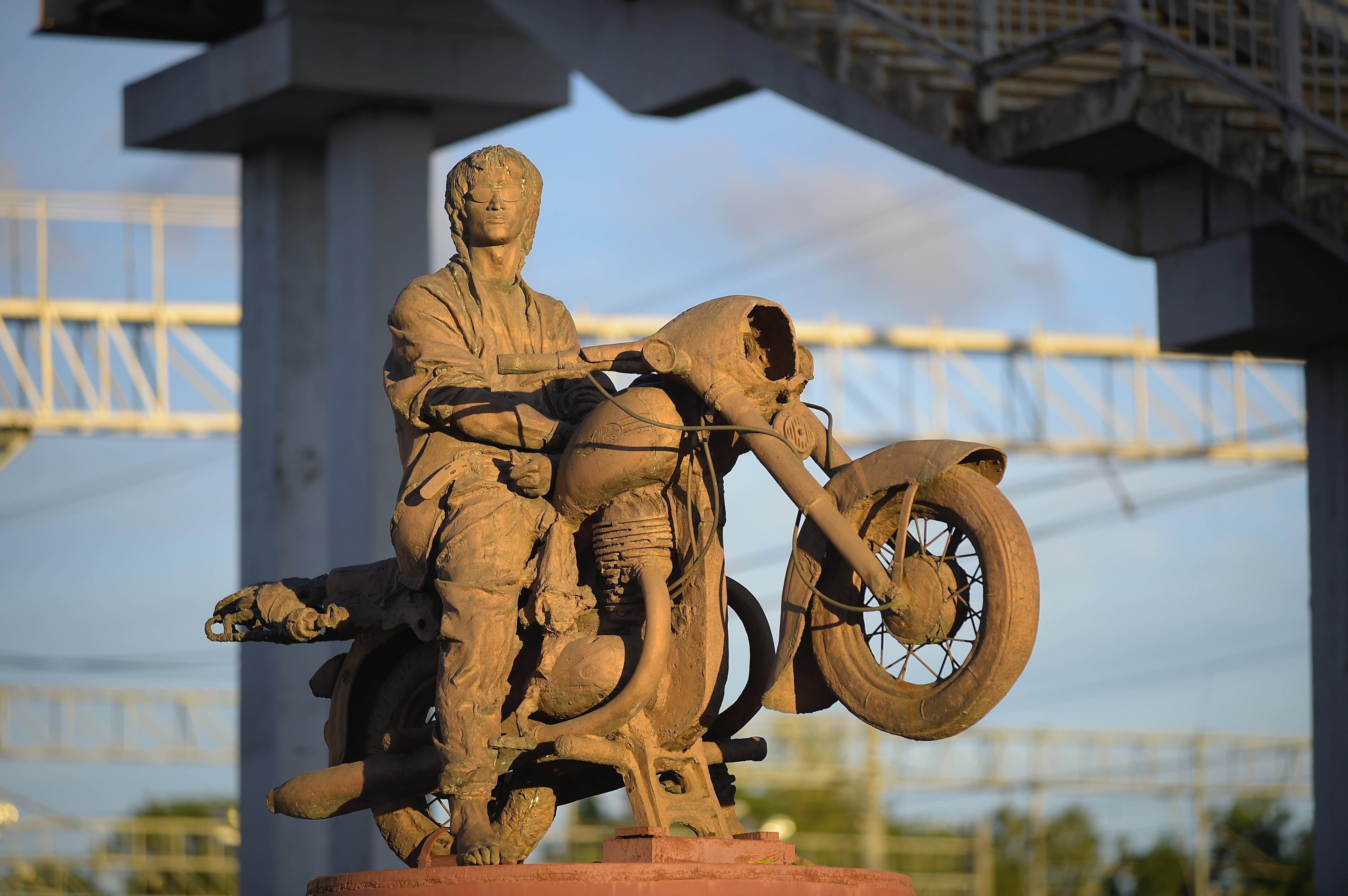 Statue de Victor Tsoï