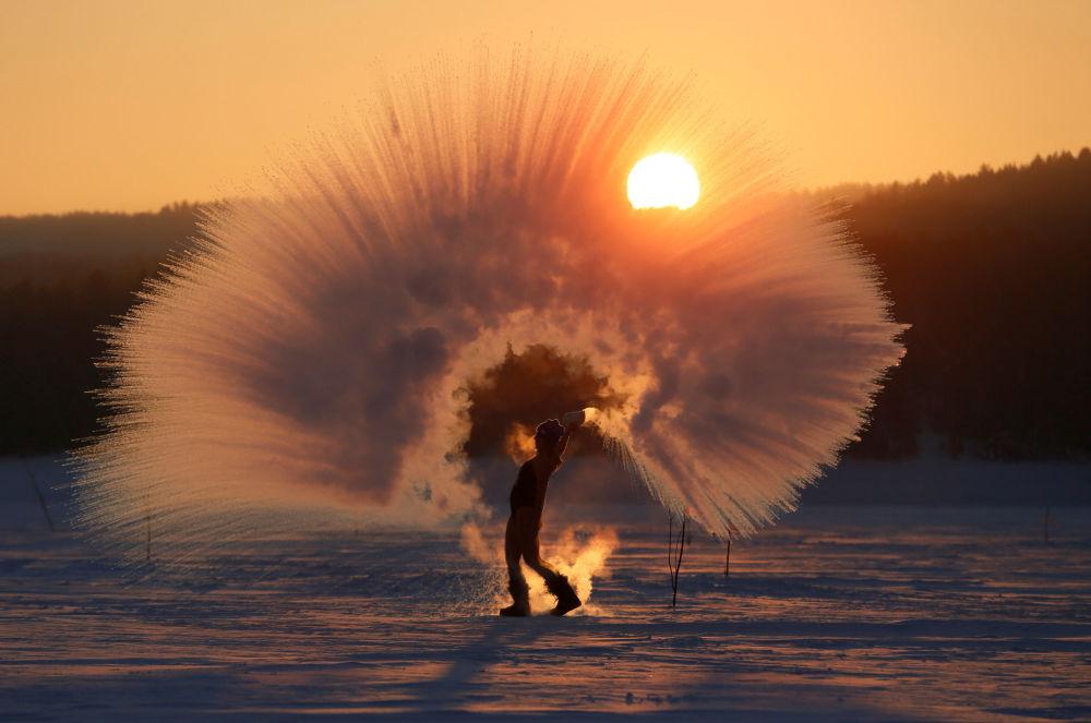 Les images les plus impressionnantes de l'hiver