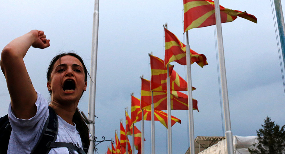 Pour élargir l'Otan, les USA sacrifient la stabilité de la Macédoine et de la région