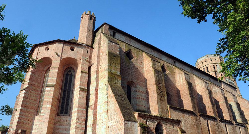 la cathédrale Saint-Alain de Lavaur (Tarn)