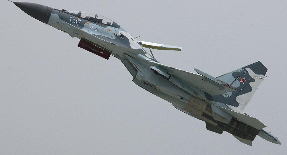 Un chasseur Su-30MK