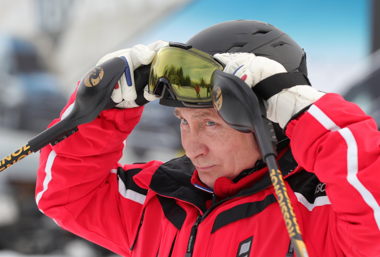 Vladimir Poutine sur les pistes de ski