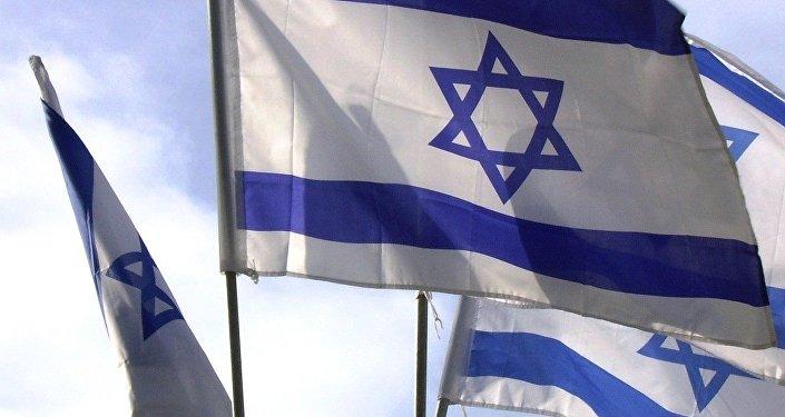 Drapeaux israéliens