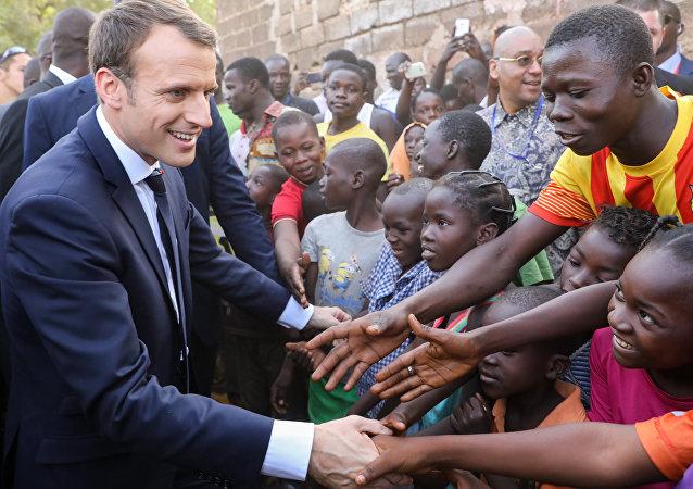Emmanuel Macron au Burkina Faso