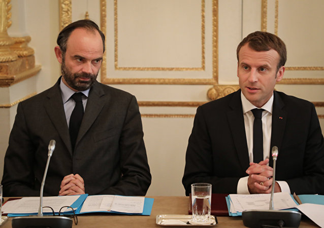Edouard Philippe et Emmanuel Macron