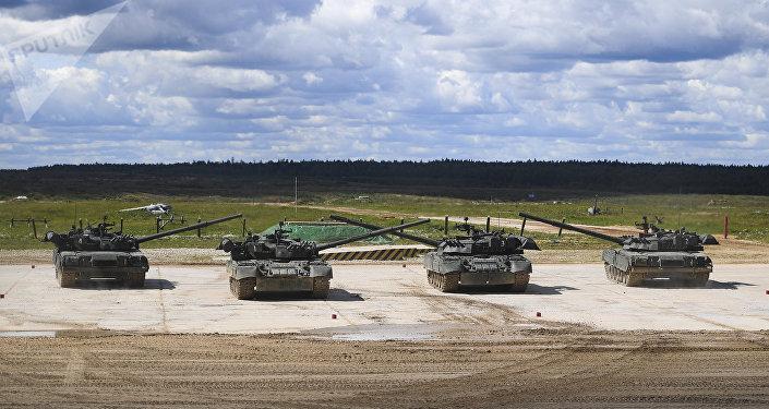 le nouveau char russe t 90ms est une arme de haute pr cision selon ses concepteurs sputnik. Black Bedroom Furniture Sets. Home Design Ideas