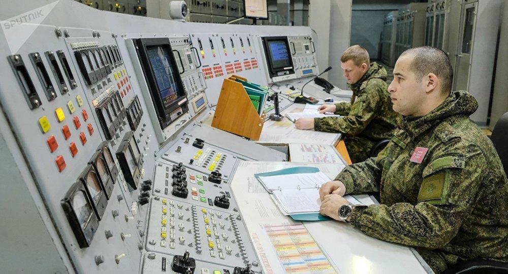 Le radar Dniepr en service dans la région russe de Mourmansk